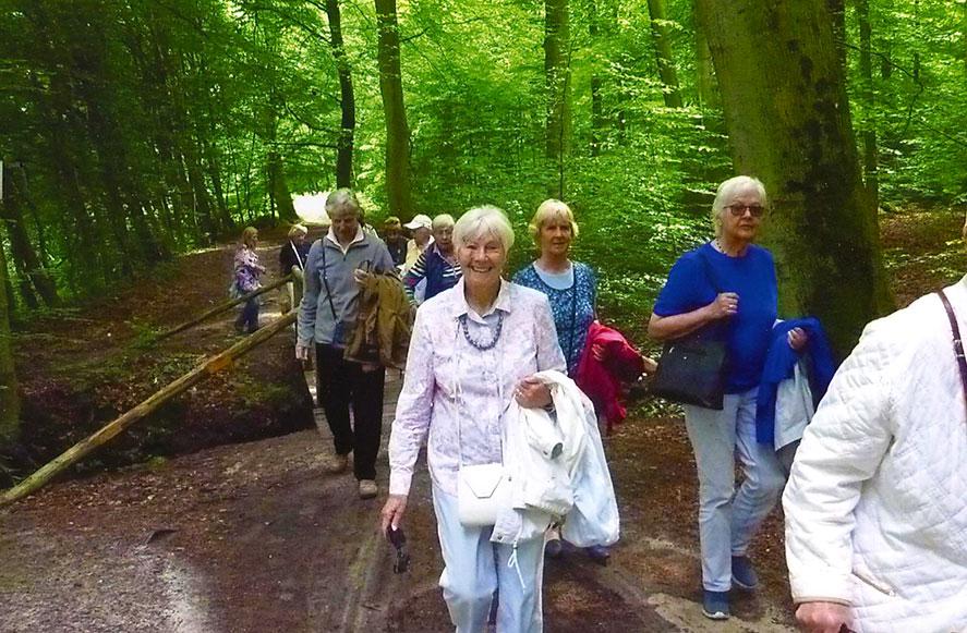 Gelungenes Sommertreffen im Forsthaus Rote Schleuse am 15. Juni 2016
