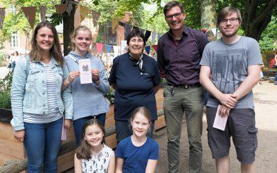 Rückblick Schulfest – Mit ökologischen Tragetaschen gegen Plastikmüll!